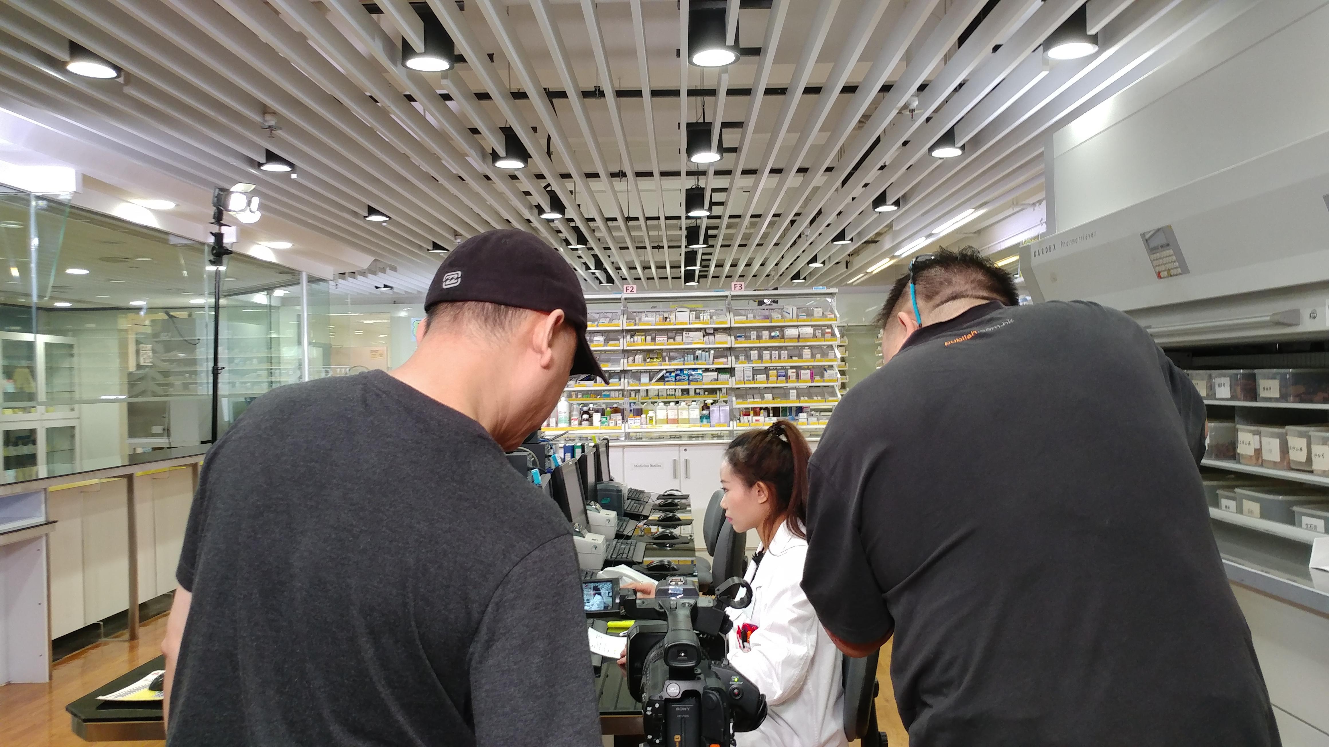 the shooting crew